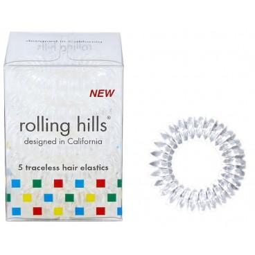 5 élastiques ressorts transparents Rolling Hills