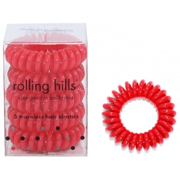 5 élastiques ressorts rouges Rolling Hills