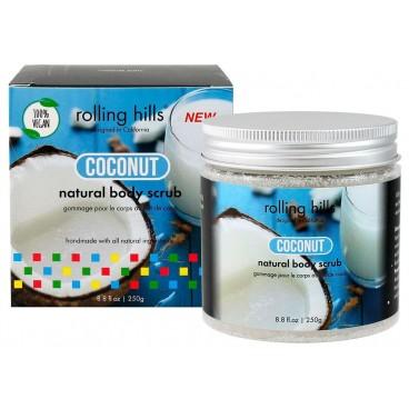 Gommage naturel pour le corps à la noix de coco Rolling Hills