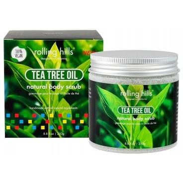 Gommage naturel pour le corps à l'huile d'arbre à thé Rolling Hills