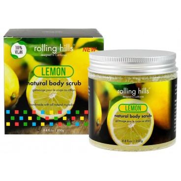 Gommage naturel pour le corps au citron Rolling Hills