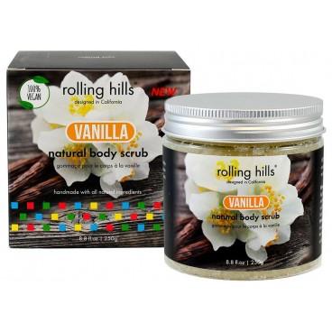 Gommage naturel pour le corps à la vanille Rolling Hills