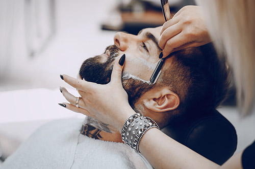 barbier homme